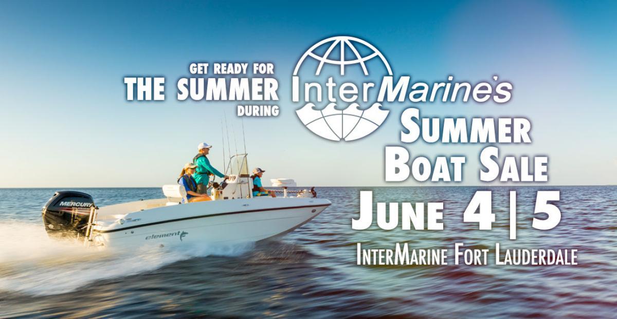 InterMarine's Summer Boat Sale