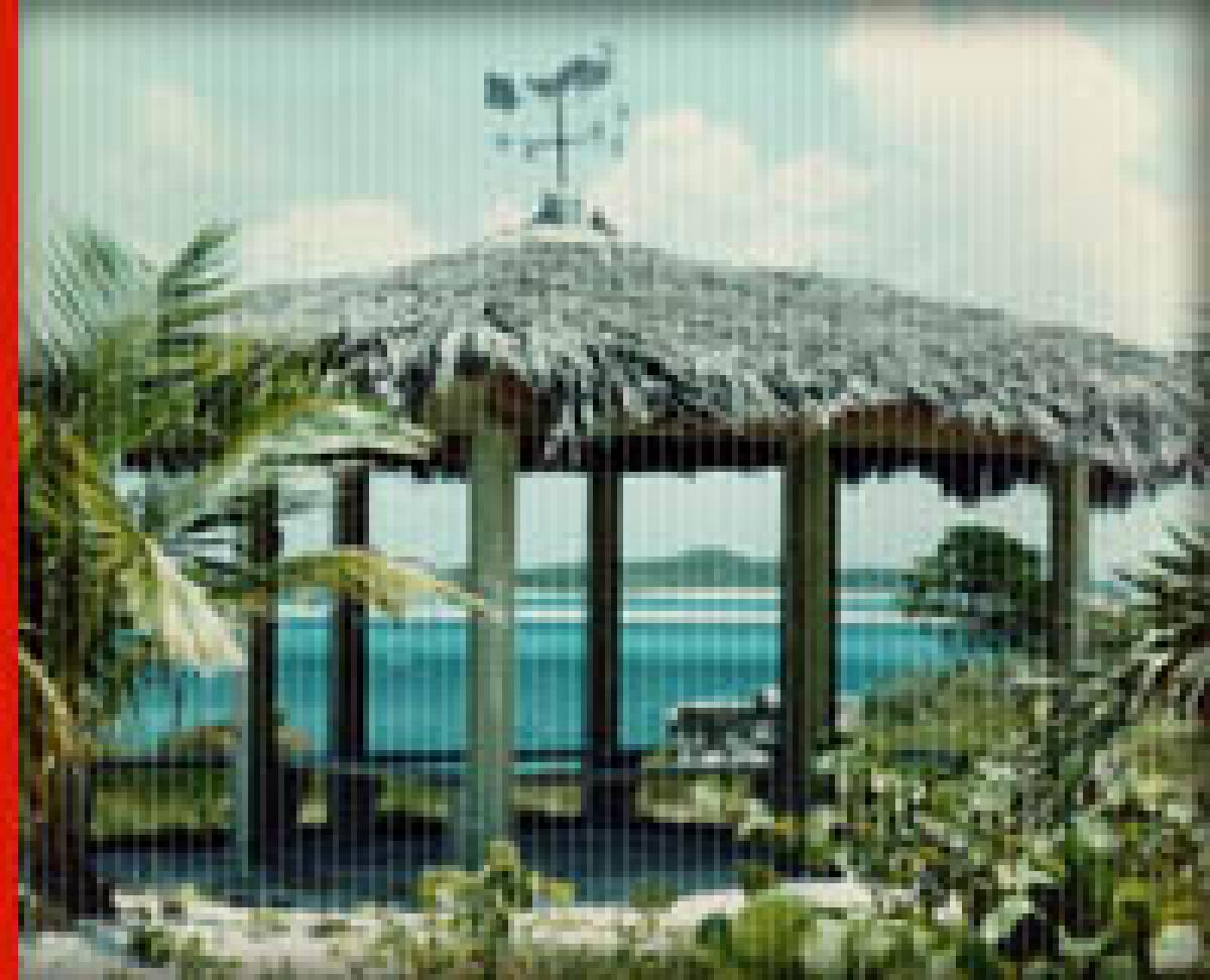 Image 0132: A Gazebo in Norman's Cay