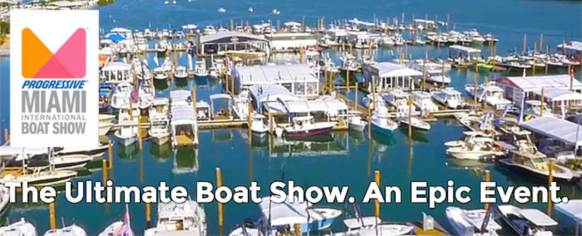 2017 Miami Boat Show Edition: Boats on Display