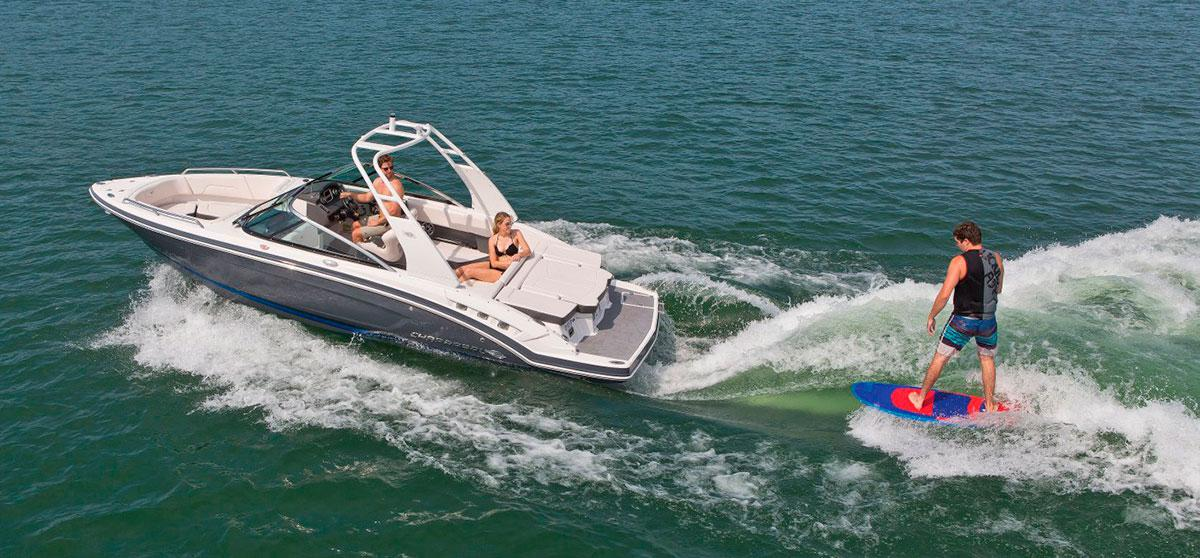 Chaparral boats now with Malibu Surfgate Technology