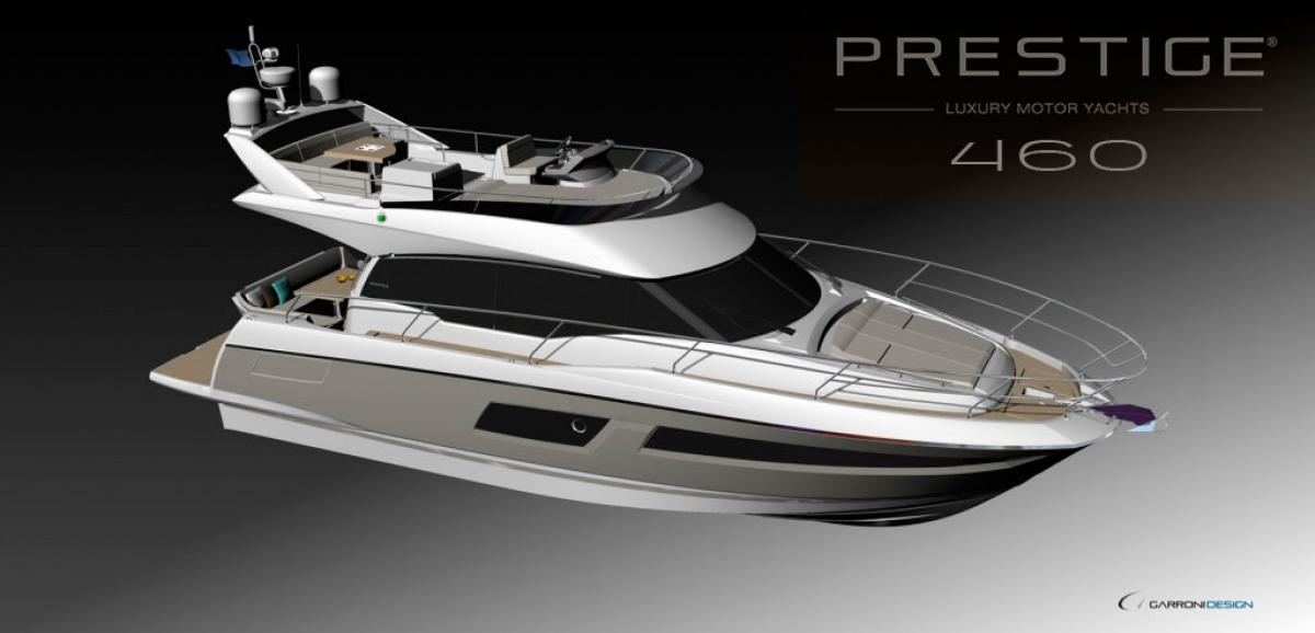 New Prestige Yachts 460: A compact version of larger yachts