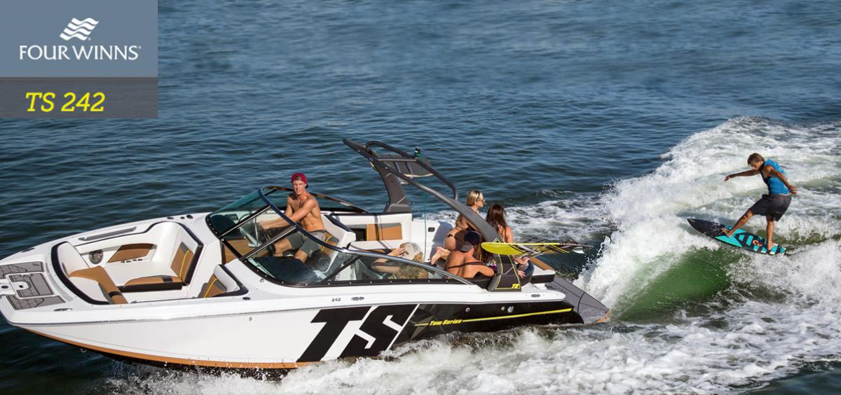 Discover Four Winns TS242 Tow Boat