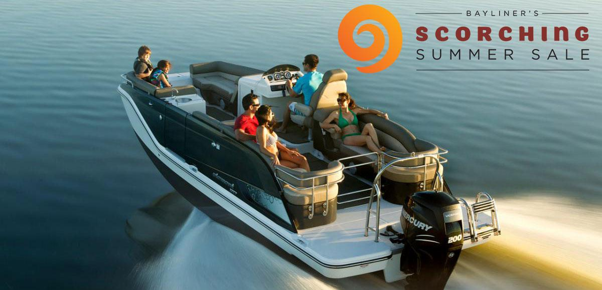 Bayliner's Scorching Summer Sale is here