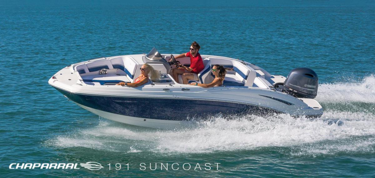 Chaparral 191 Suncoast is now in production