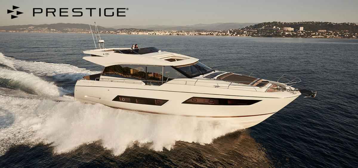 Prestige Yachts 680 S wins prize for BEST LAYOUT