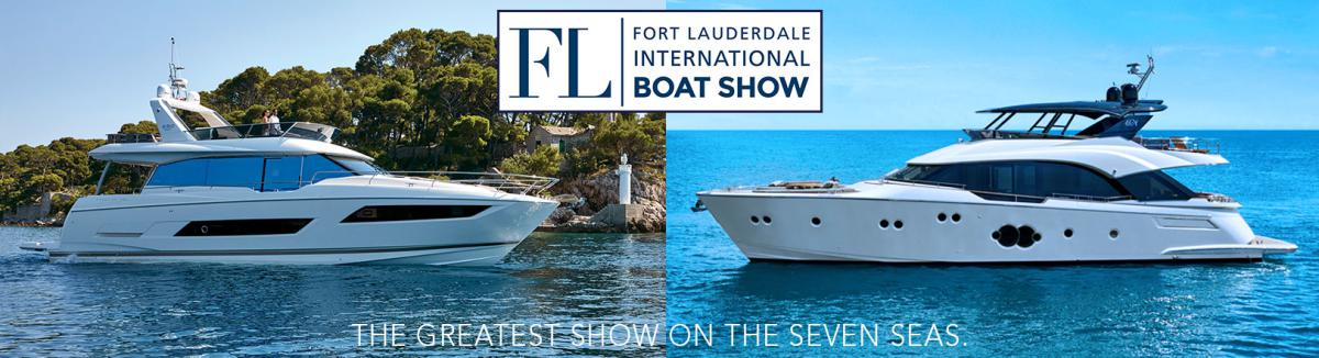 New Monte Carlo Yachts and Prestige Yachts at Fort Lauderdale Boat Show