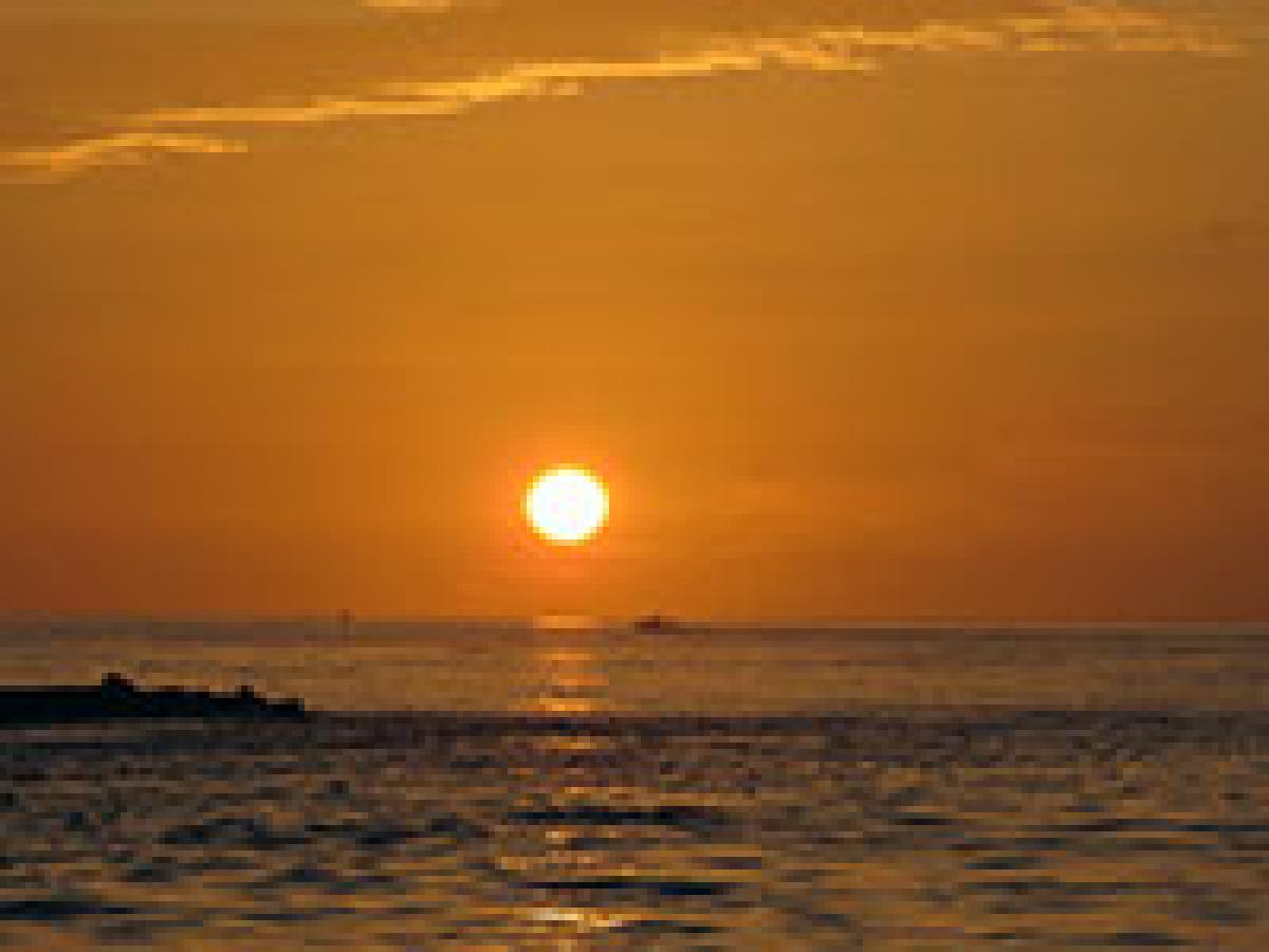 Image 0325: Sanibel sunset with InterMarine