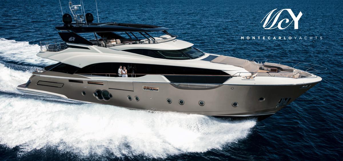 The MCY 96 wins Best International Motor Yacht