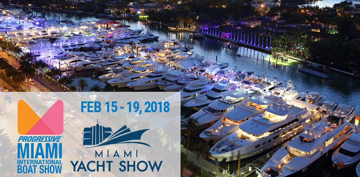 Miami Boat Show Season 2018