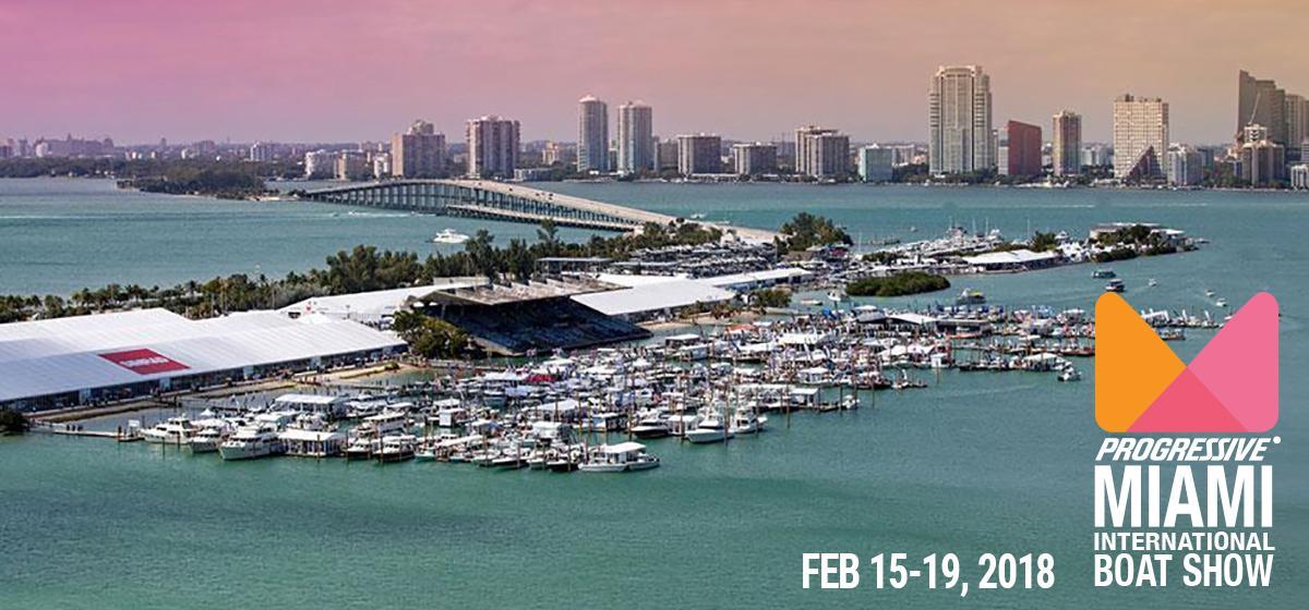 2018 Miami Boat Show Display Boats