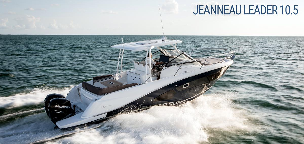 Jeanneau Innovation Highlight: Leader 10.5