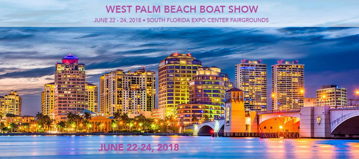 The Summer West Palm Beach Boat Show is here