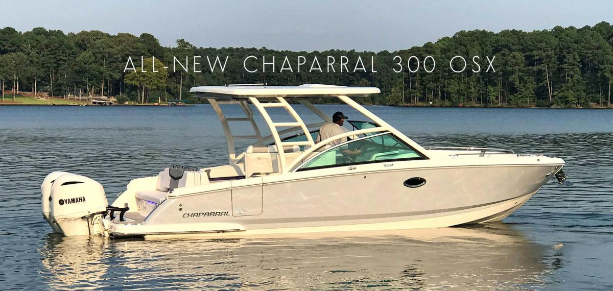 Presenting the new Chaparral 300 OSX