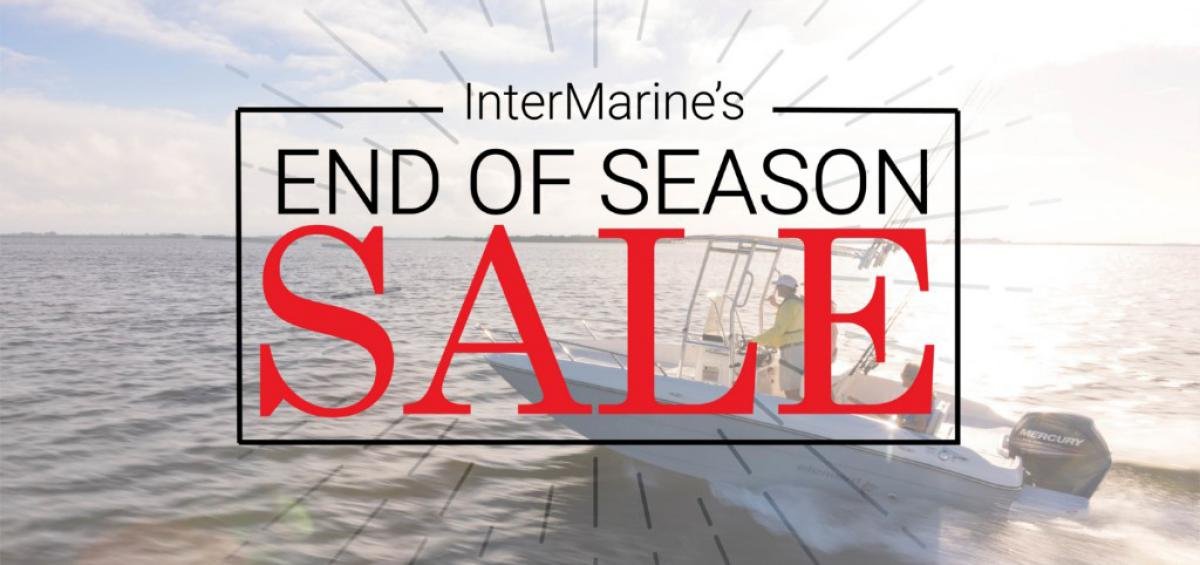 InterMarine's End of Season Sale