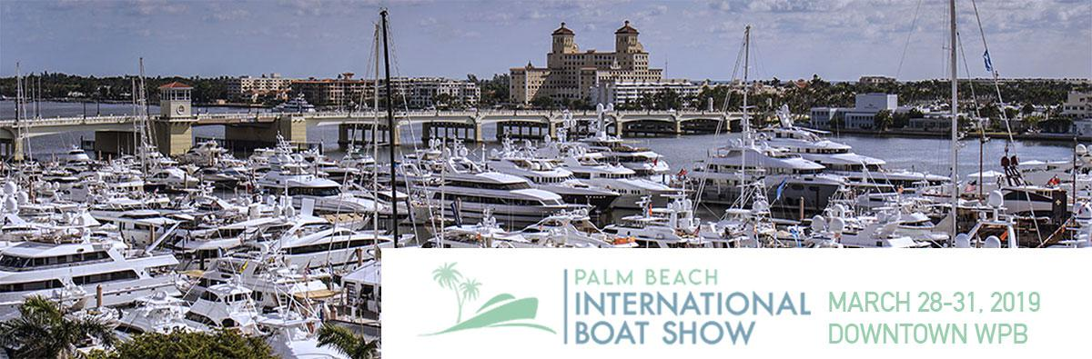 See us at the 2019 Palm Beach Boat Show!