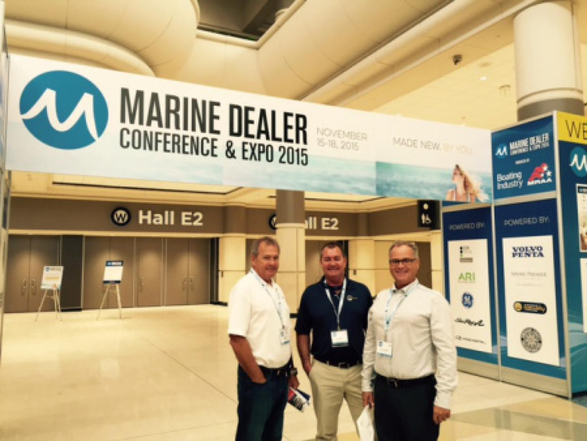 InterMarine is at the #MDCE15