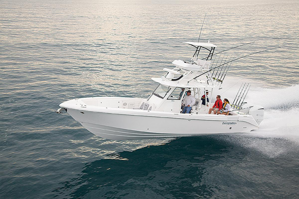 Maintaining your Everglades Center Console fishing boat
