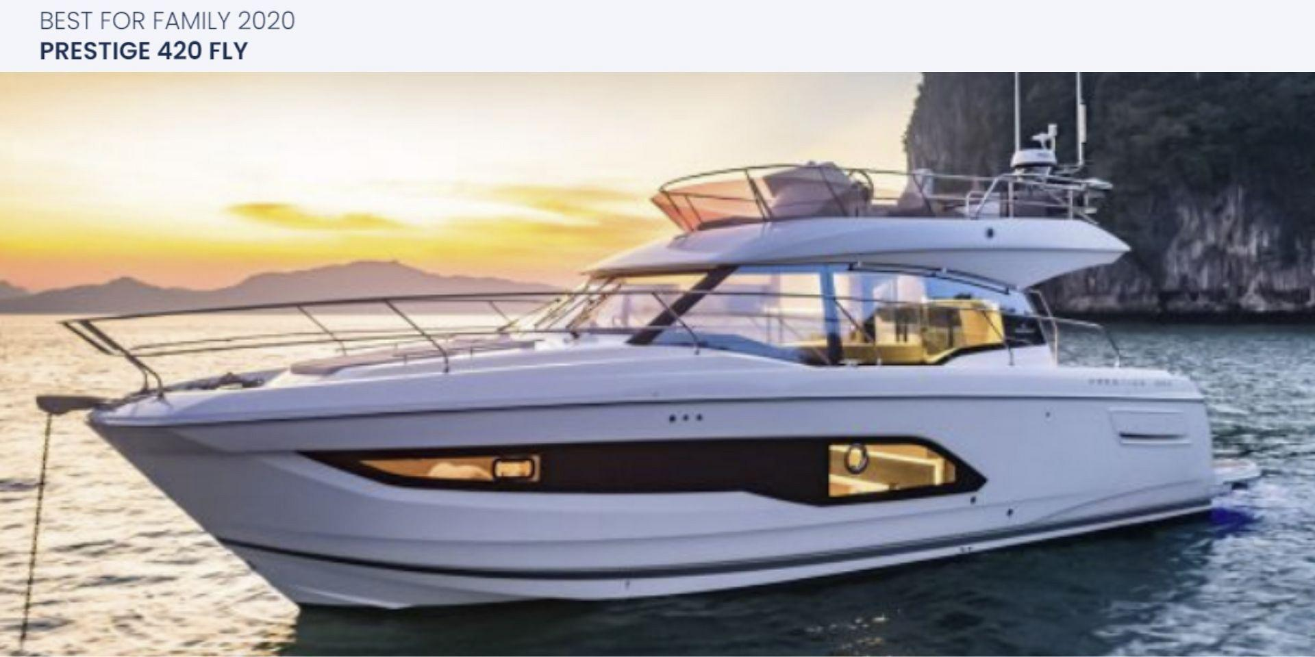 The Prestige 420 Shines in Best Of Boats Awards