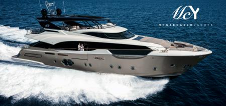 The MCY 96 wins Best International Motor Yacht