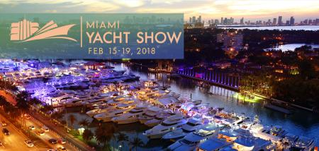 Miami Yacht Show 2018 Yachts on Display