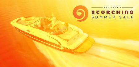 Bayliner's Scorching Summer Sale is back!