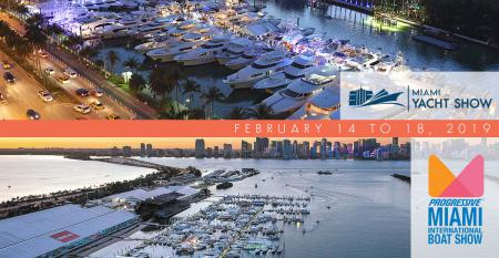 Miami International Boat Show and Miami Yacht Show this February 2019