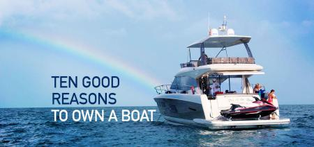 Ten Reasons to Own a Boat