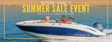 InterMarine's Summer Sale This Memorial Weekend