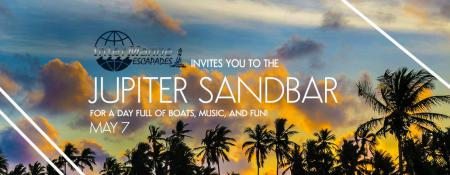Escapade to the Jupiter Sandbar Bash on May 7