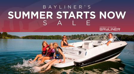 Bayliner Announces Summer Starts Now Sale