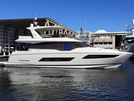 view Jean and Christel's Prestige 680 Yacht